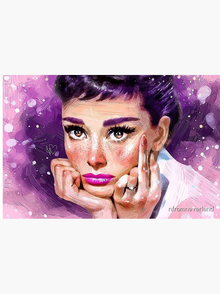 Audrey Hepburn by nfromneverland