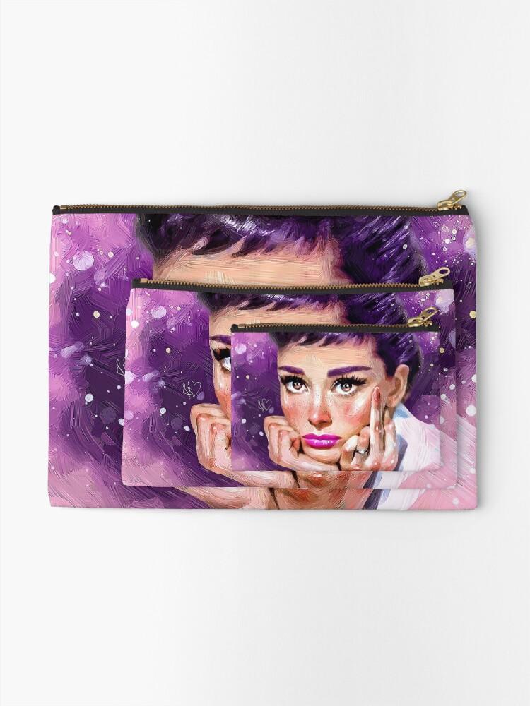 Alternate view of Audrey Hepburn Zipper Pouch