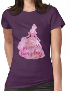 Princess everyday Womens Fitted T-Shirt