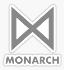 Monarch Picture Sticker