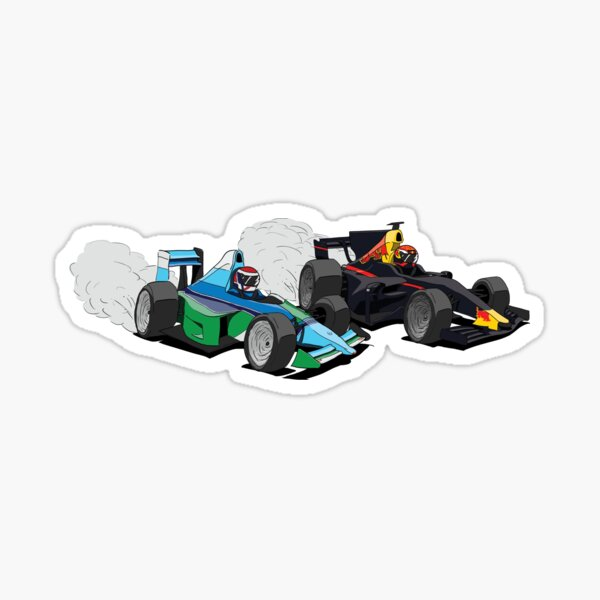 Jos & Max Head to Head Sticker