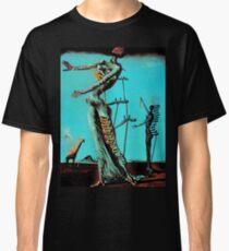 Salvador Dali Burning Giraffe Surreal Famous Painters Classic T-Shirt
