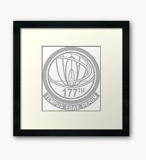 john titor time travel Framed Print