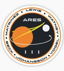 Ares 3 mission to Mars Picture Sticker