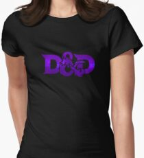 dungeon and dragons Womens Fitted T-Shirt