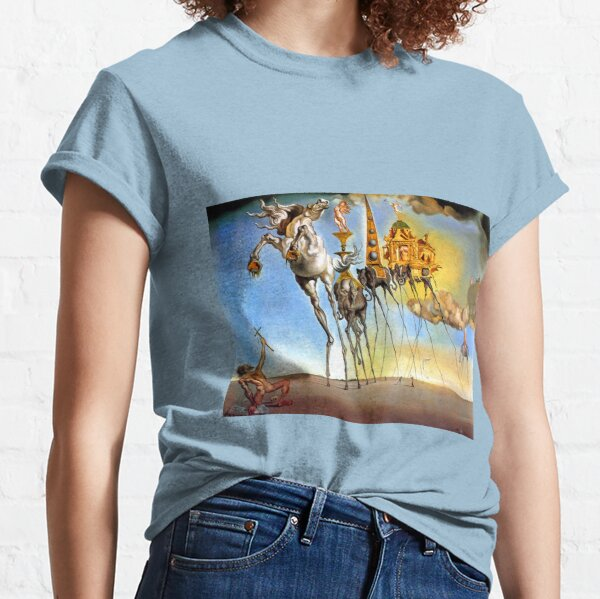 Salvador Dali Temptation of St. Anthony Surrealism Famous Painters Classic T-Shirt
