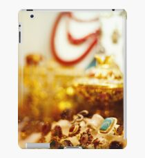 Eastern jewelry market with rings iPad Case/Skin