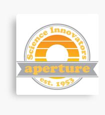 Aperture Science Innovators Canvas Print