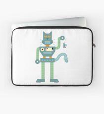 Robot Cat Laptop Sleeve