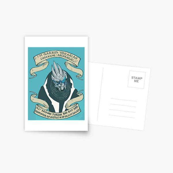Space Boyfriend  Postcard