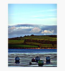 Nice view innit buoys Photographic Print