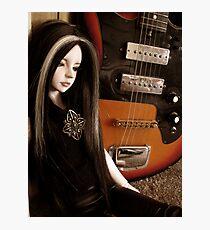 Atreyu and the Guitar Photographic Print