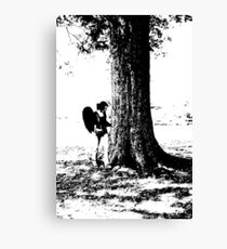 Standing By Canvas Print