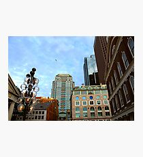 Boston downtown Photographic Print