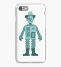 Cowboy Robot iPhone Case/Skin