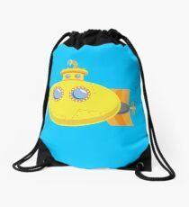 Yellow Submarine Drawstring Bag