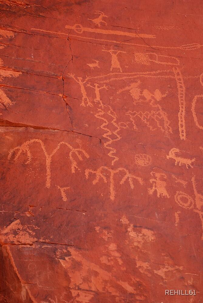Hieroglyphic Wall by REHILL61