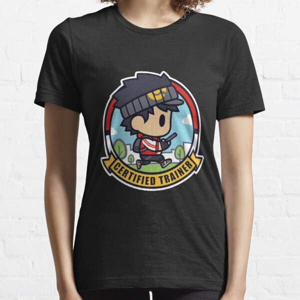 Certified Pokemon Trainer - Male Essential T-Shirt
