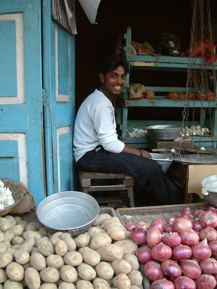 Smiles in Bombay by Linda Bretherton