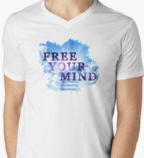 Free your mind... Men's V-Neck T-Shirt