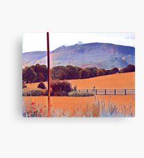 Warm Countryside Canvas Print
