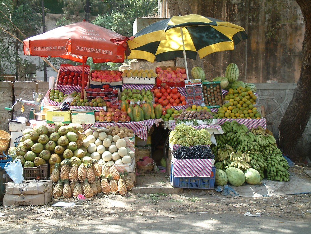 Fruit and Veg  by Linda Bretherton