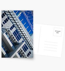 Architectural Abstact Postcards