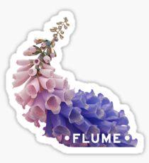 flume foxglove w/ logo Sticker
