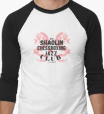 Shaolin ChessBoxing and Jazz Club Men's Baseball ¾ T-Shirt