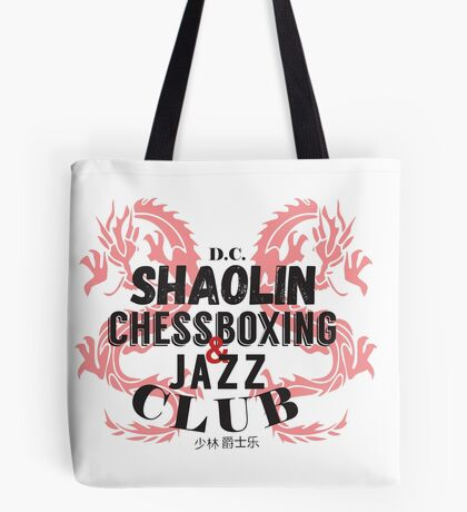 Shaolin ChessBoxing and Jazz Club Tote Bag