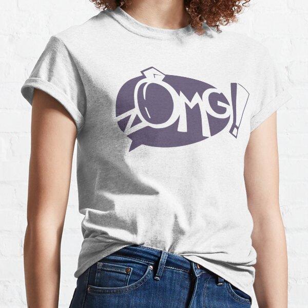 Gaia Online zOMG! Logo Classic T-Shirt