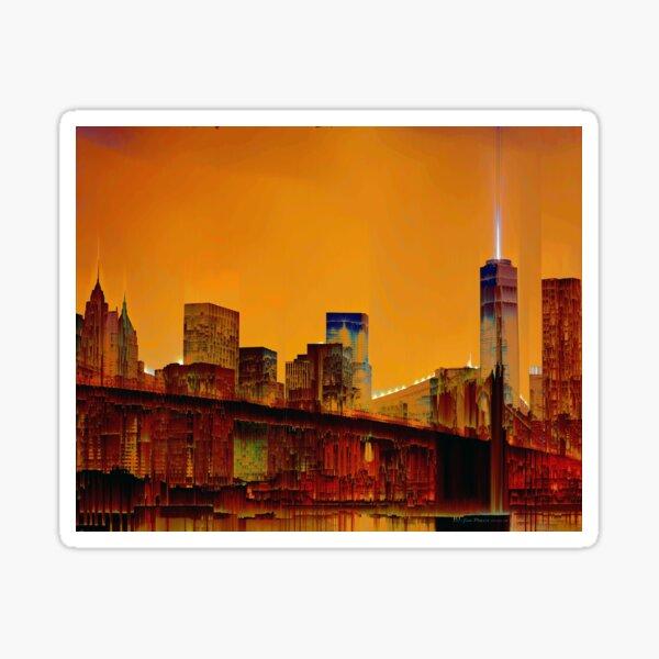 Brooklyn Bridge New York City Sticker