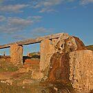 Waterwheel at Cape Leeuwin, WA  by Richard  Windeyer