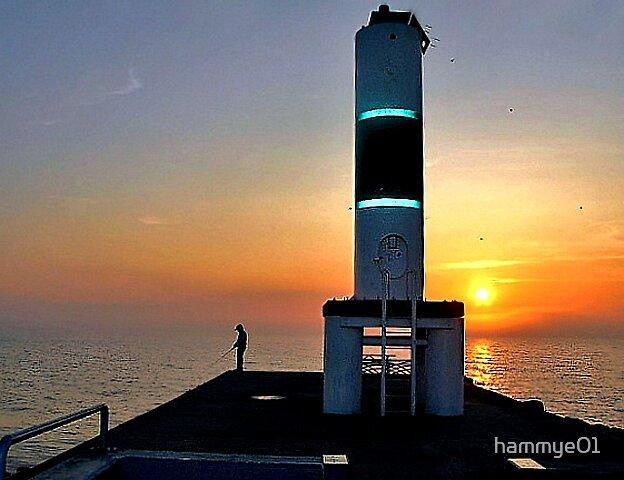 Sunrise over Lake Michigan by hammye01