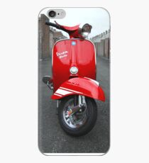 Red Vespa Rally 200 iPhone Case