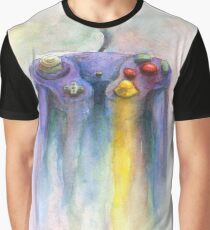 Game Cube Painting Graphic T-Shirt