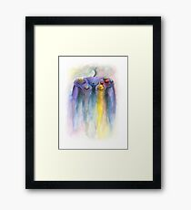 Game Cube Painting Framed Print