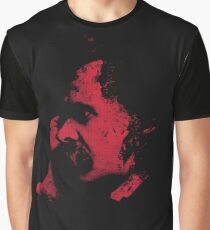 Nietzsche Portrait Graphic T-Shirt