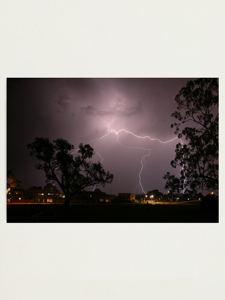 Alternate view of Lightning Photographic Print