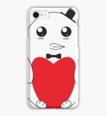 Adorable Love Penguin iPhone Case/Skin