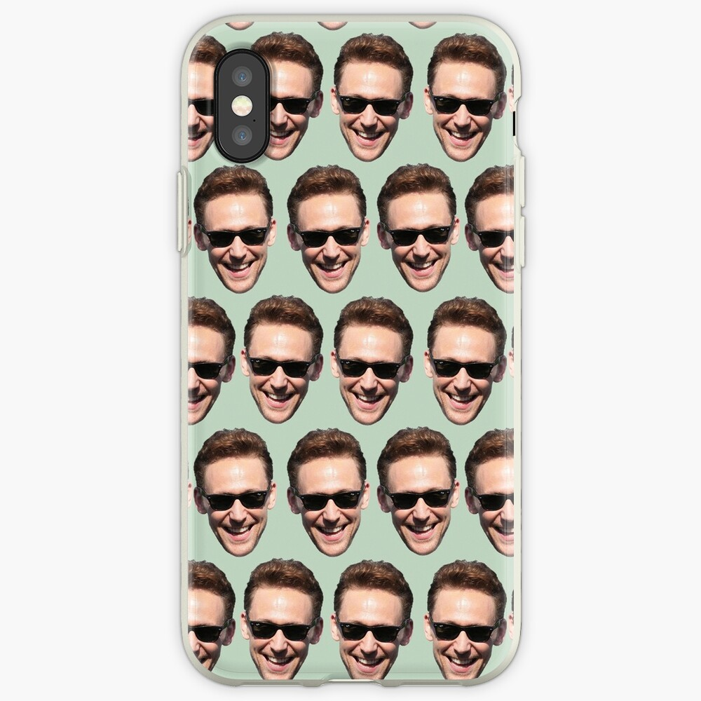 ladies and gentlemans, Tom Hiddleston iPhone-Hülle & Cover