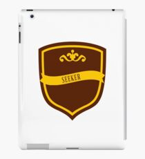 Red and Gold Badge 8 iPad Case/Skin