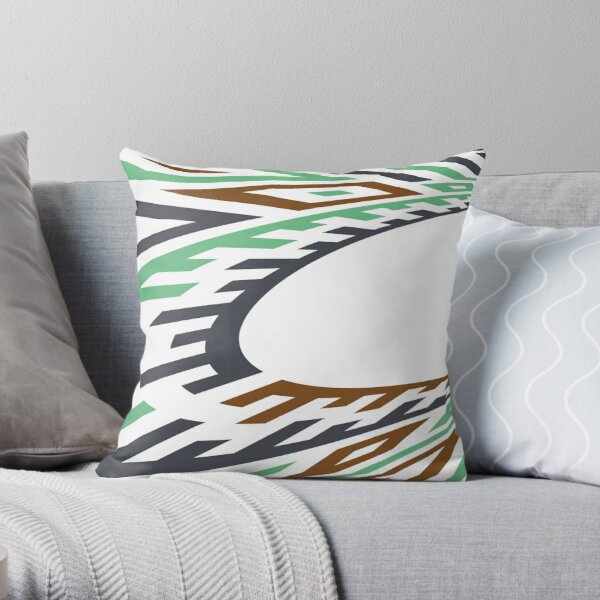 AnchorTawnySeafoam Throw Pillow