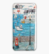 Spring at the seaside iPhone Case/Skin