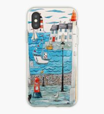Spring at the seaside iPhone Case