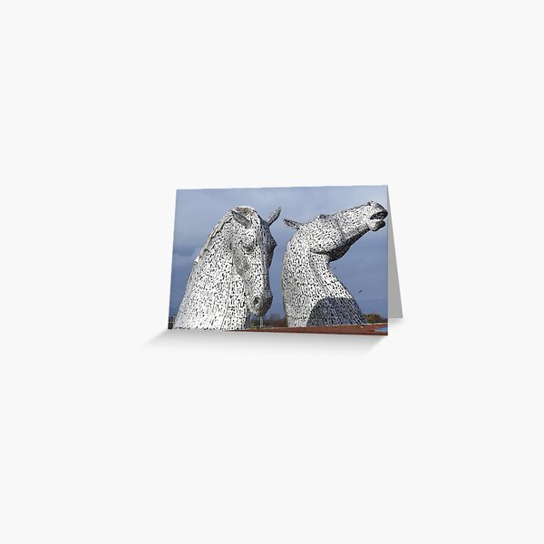 The Kelpies March 2017 Greeting Card