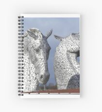 The Kelpies March 2017 Spiral Notebook