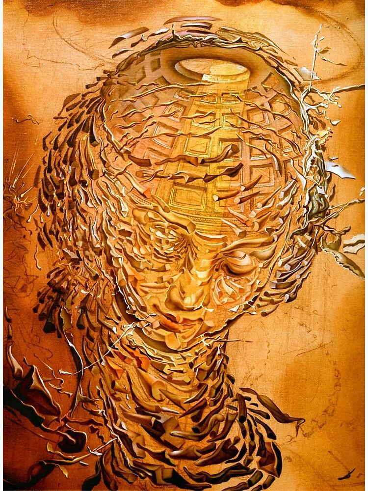 Salvador Dali Raphael's Head Exploding Surreal Famous Painters | Canvas  Print