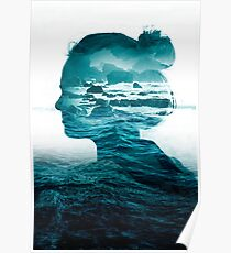 The blue sea inside me Poster