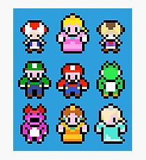 Mario Heroes Squad Photographic Print